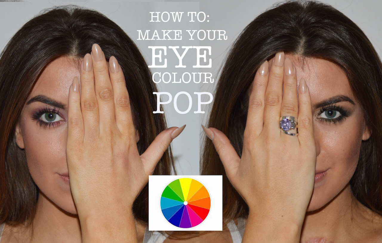 make your eye colour pop