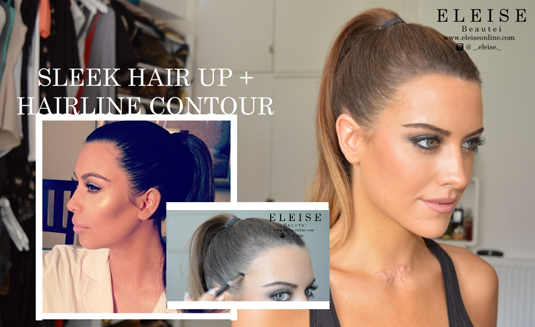 ELEISE BEAUT BLOGGER HAIRLINE CONTOUR AND SLEEK PONY