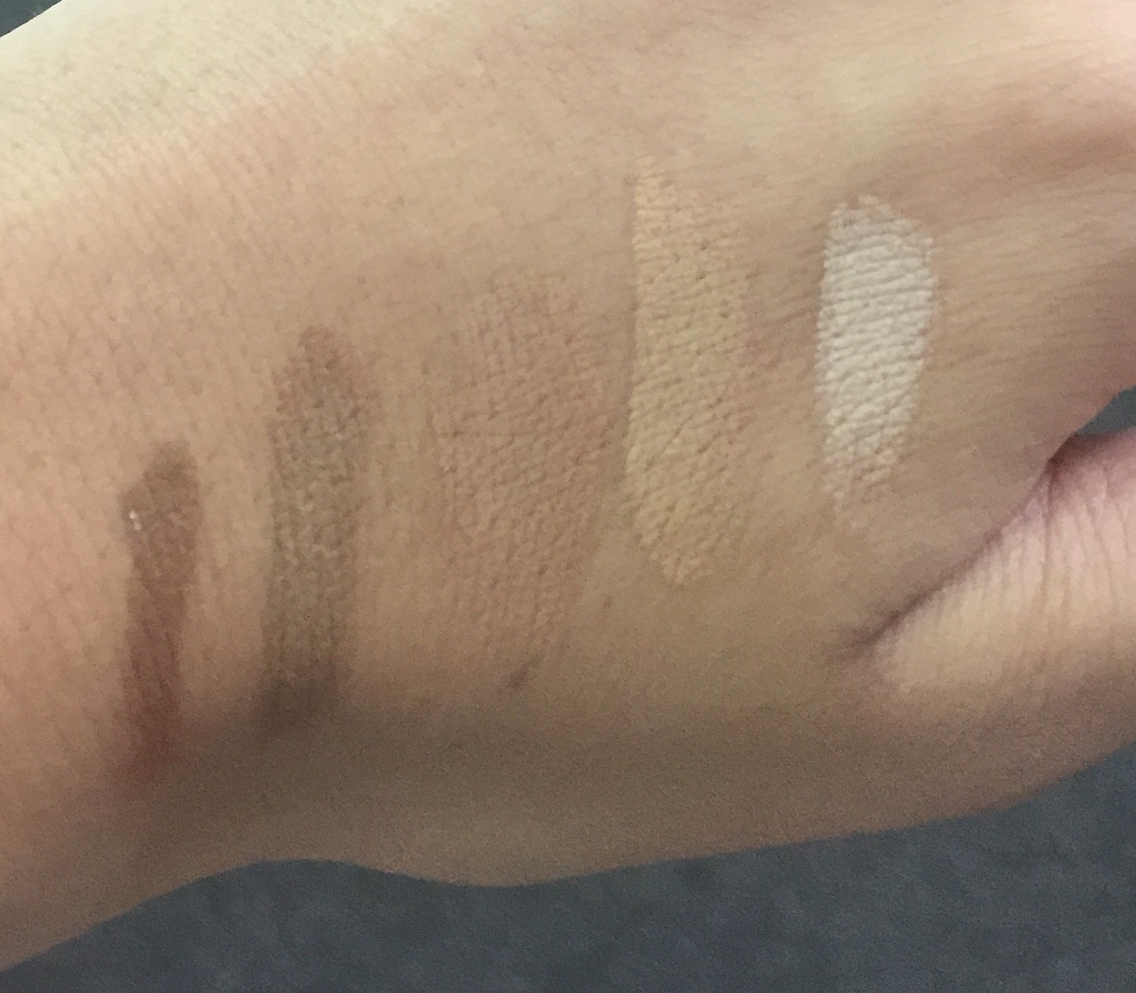 MAC studio fix comparison to Mehron Celebre pro HD eurasia