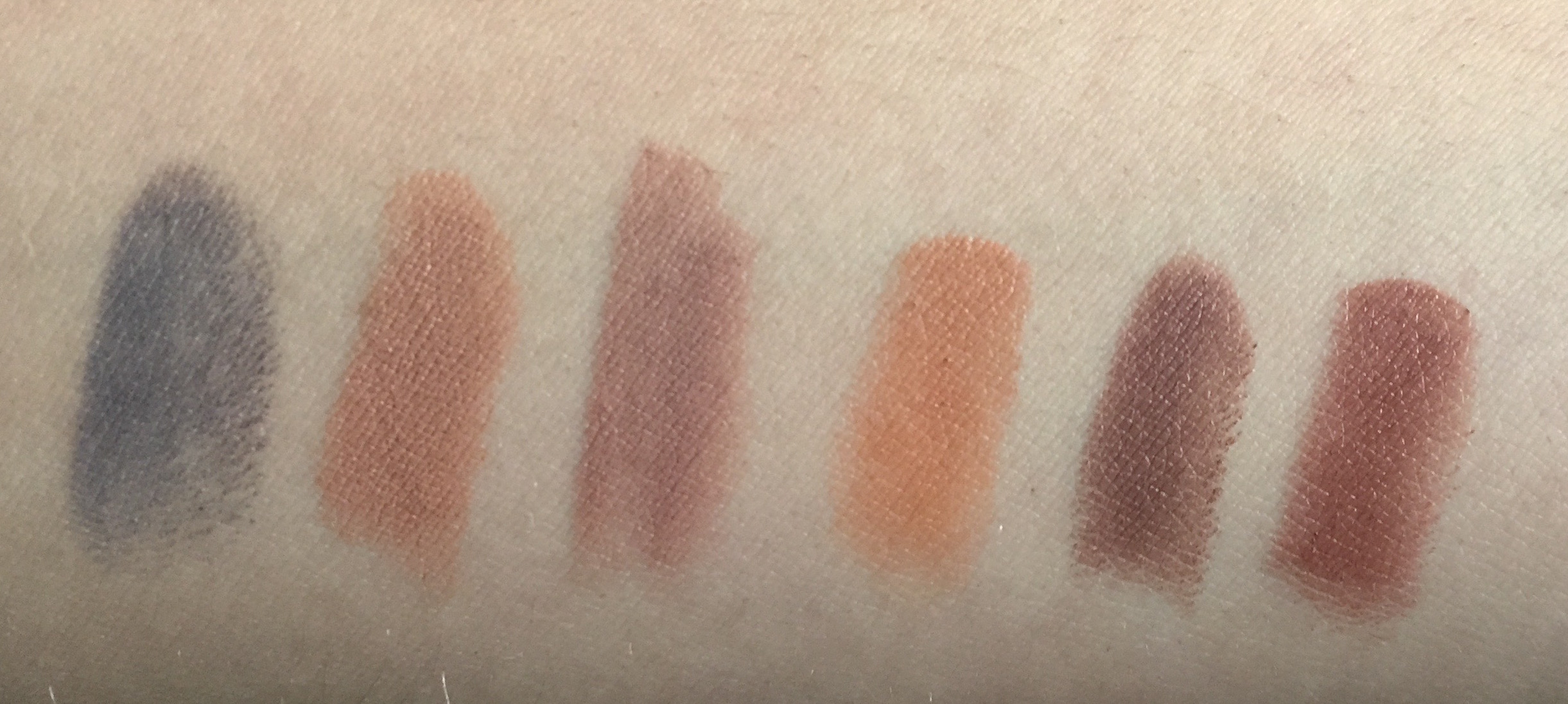 Brown drugstore lipsticks swatches