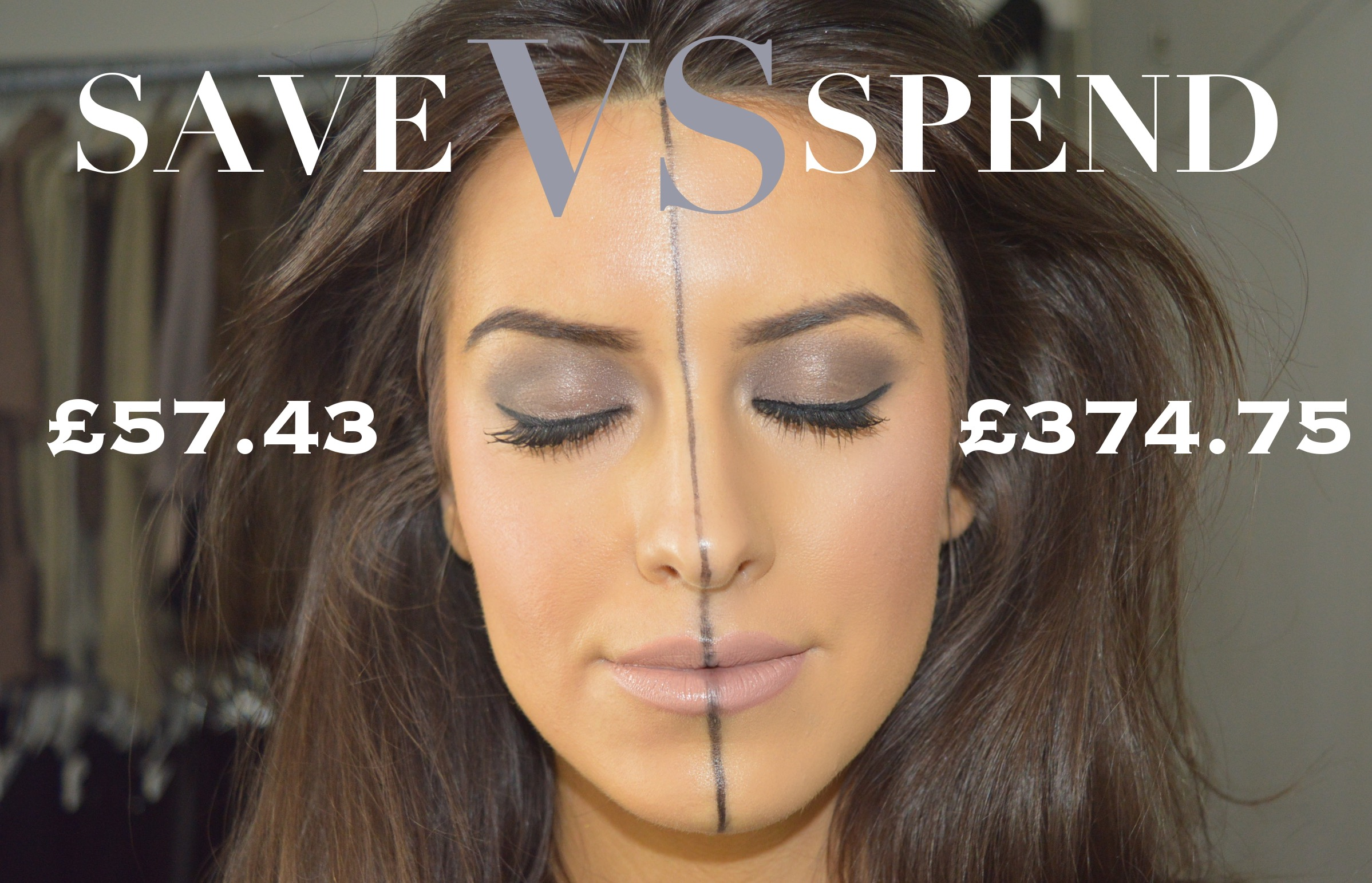spend vs save makeup eleise lucraft blogger