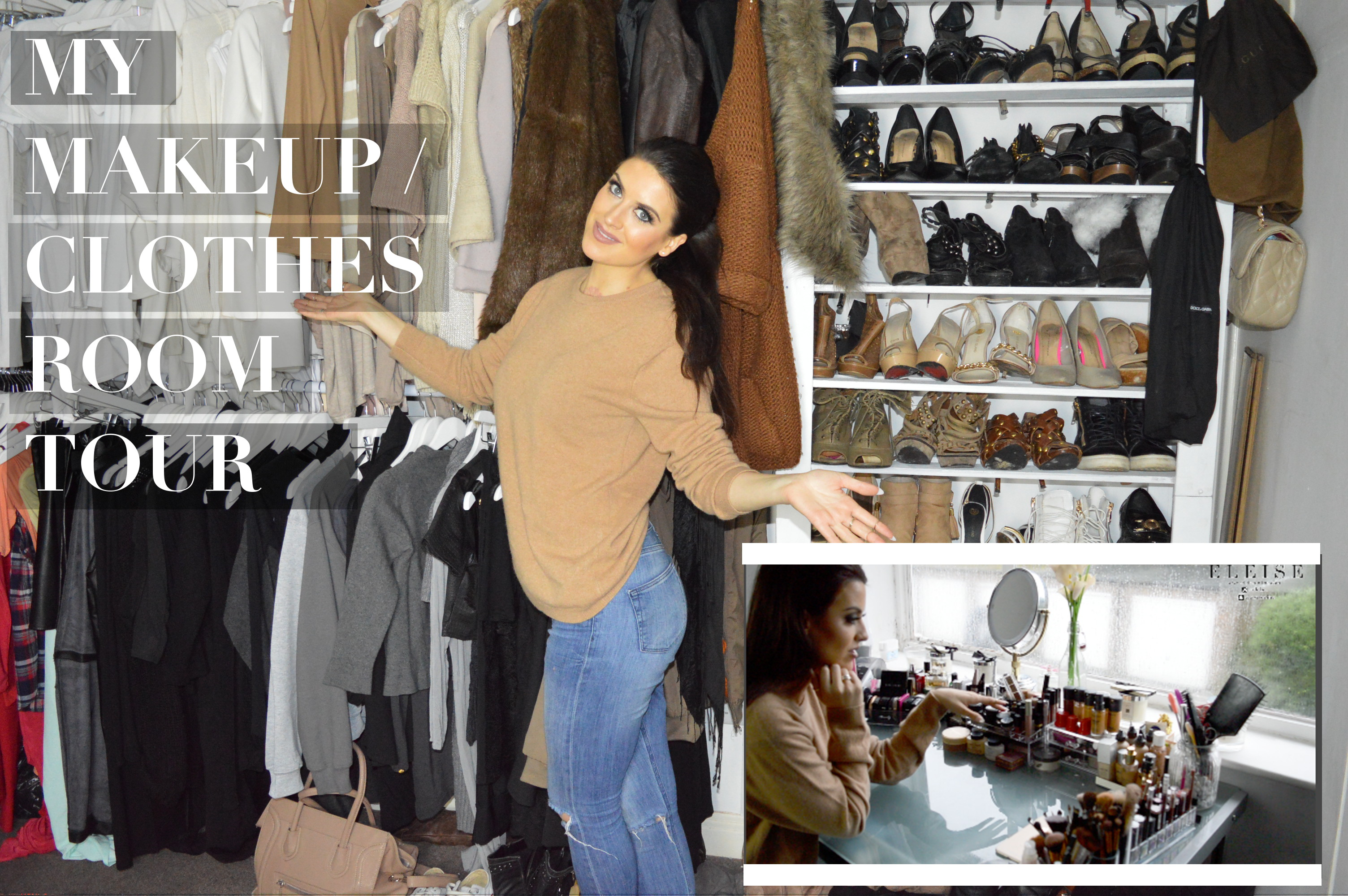 My wardrobe tour eleise eleise lucraft blogger