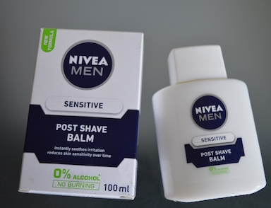 nivea men shave balm sensitive