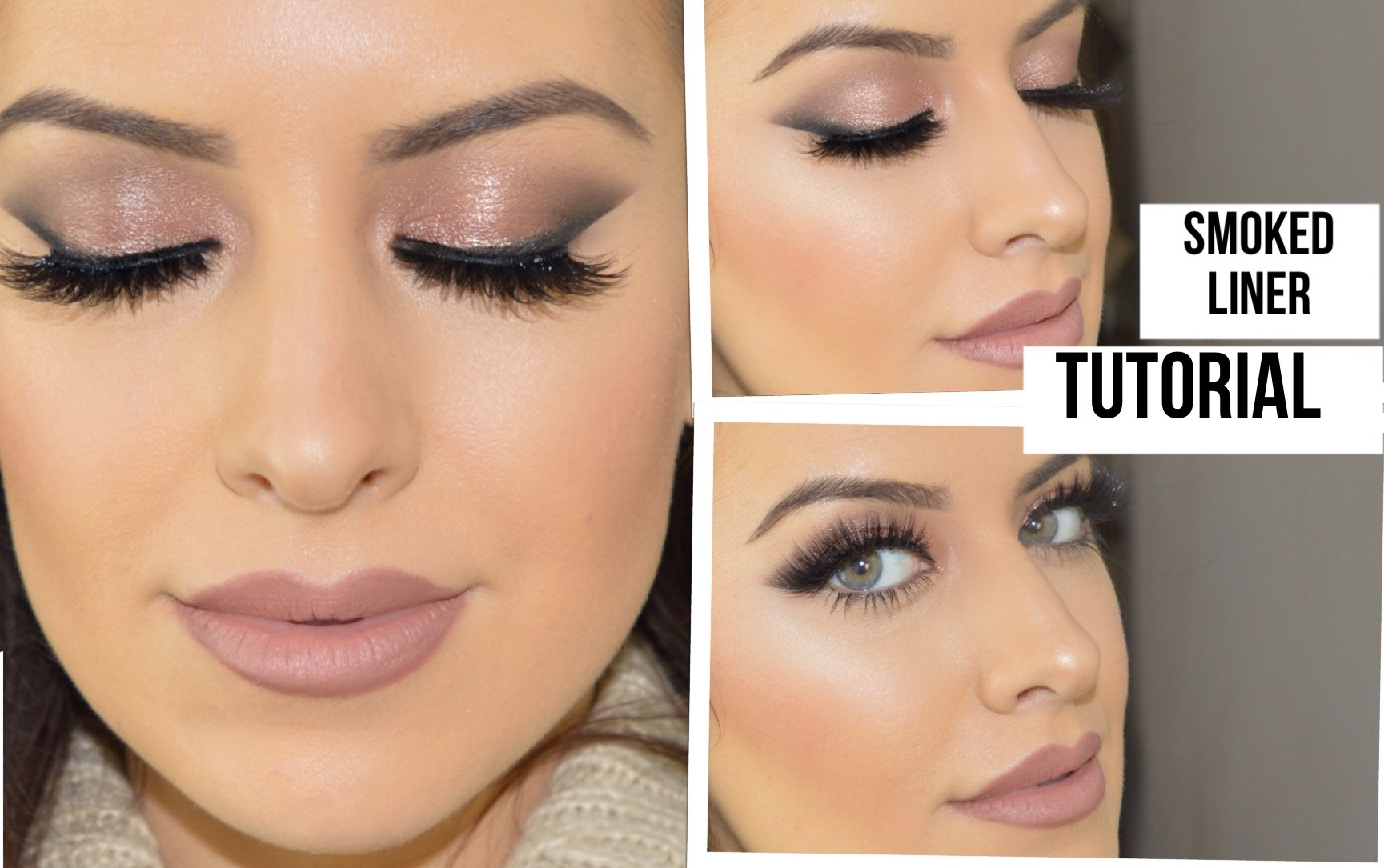 Kylie Jenner and Hrush winged Smokey shadow liner using TAPE!