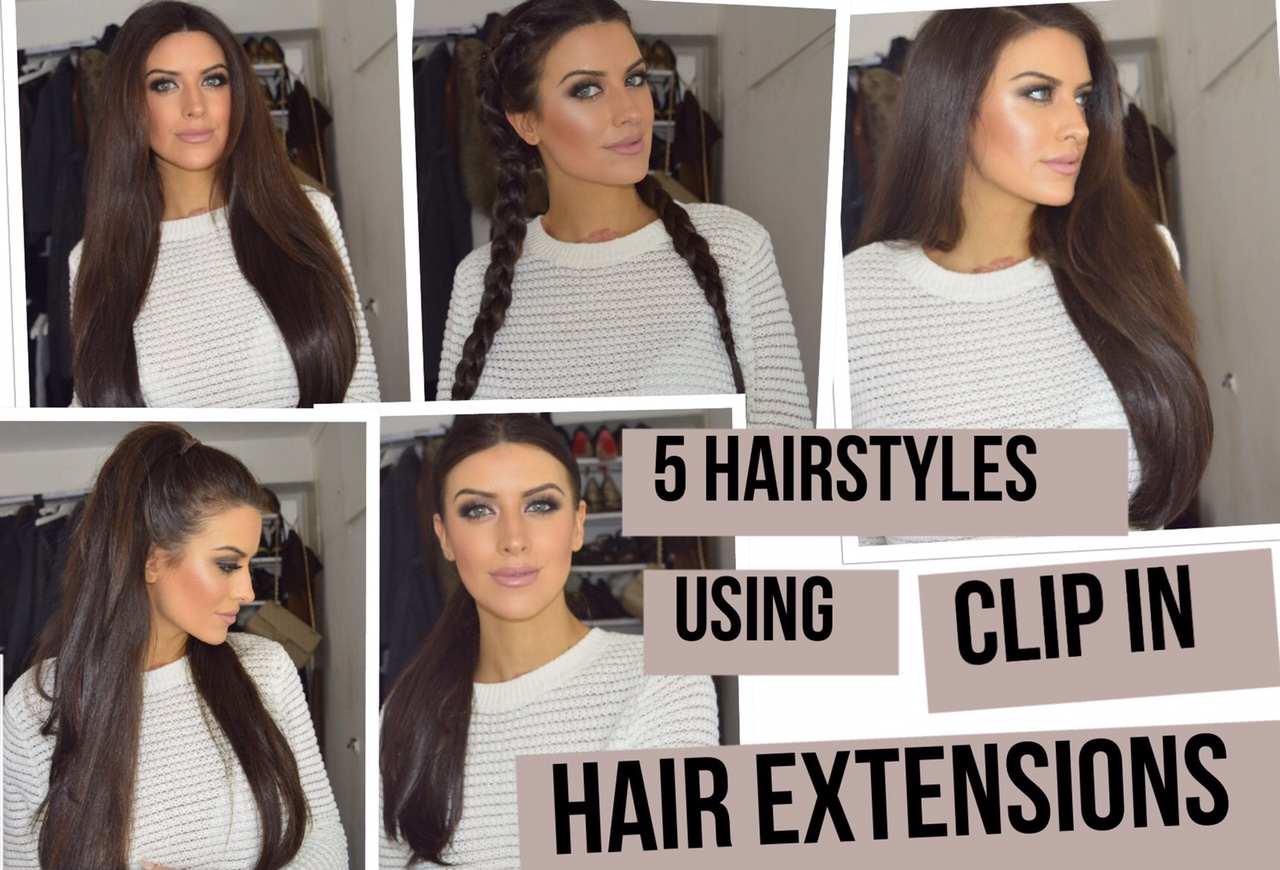 Eleise Lullabellz clip in hair extensions