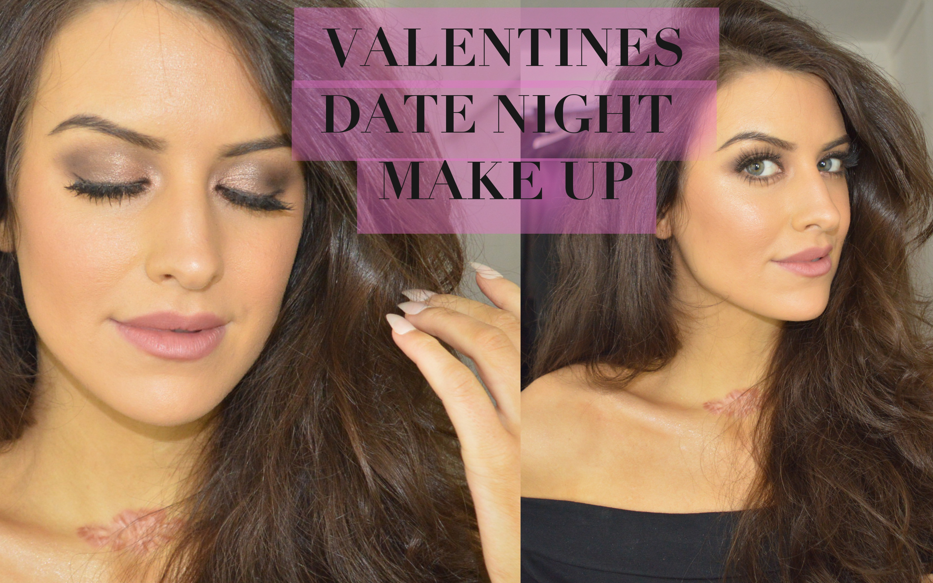 VALENTINES make up by eleise lucraft beauty blogger