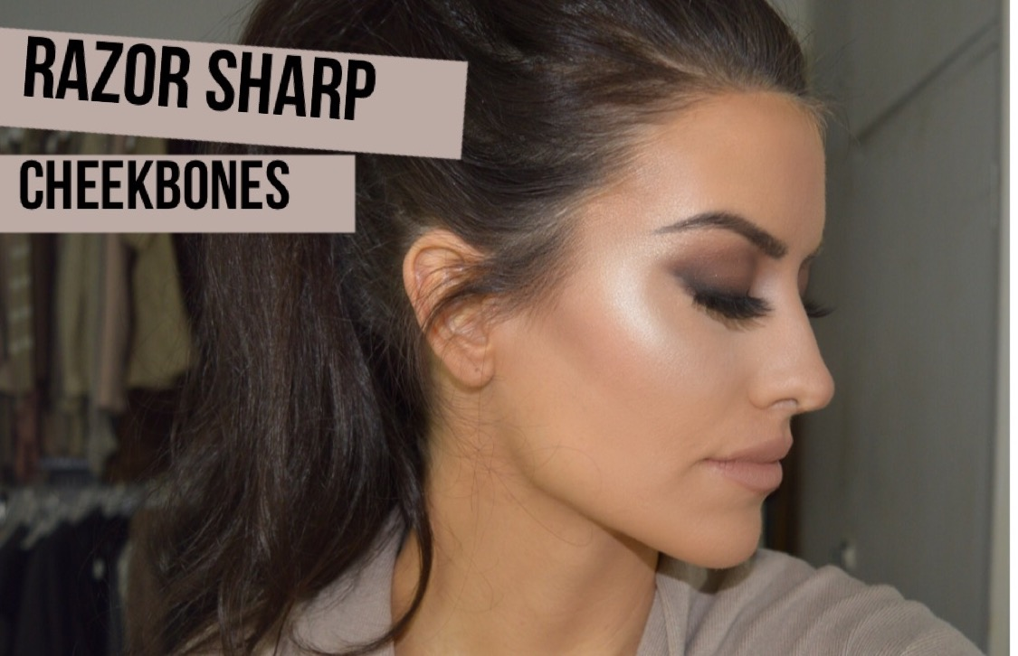eleise razor sharpe cheekbones technique