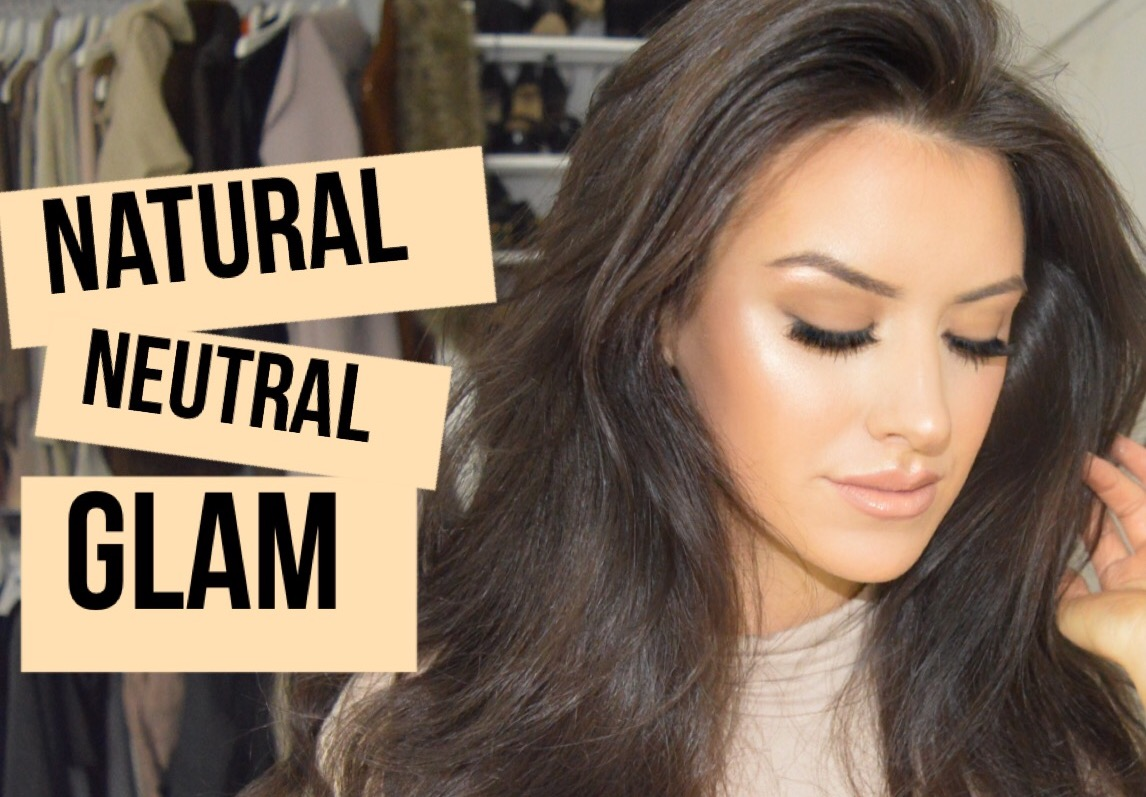 eleise beauty blogger natural neutral glam tutorial make up ideas