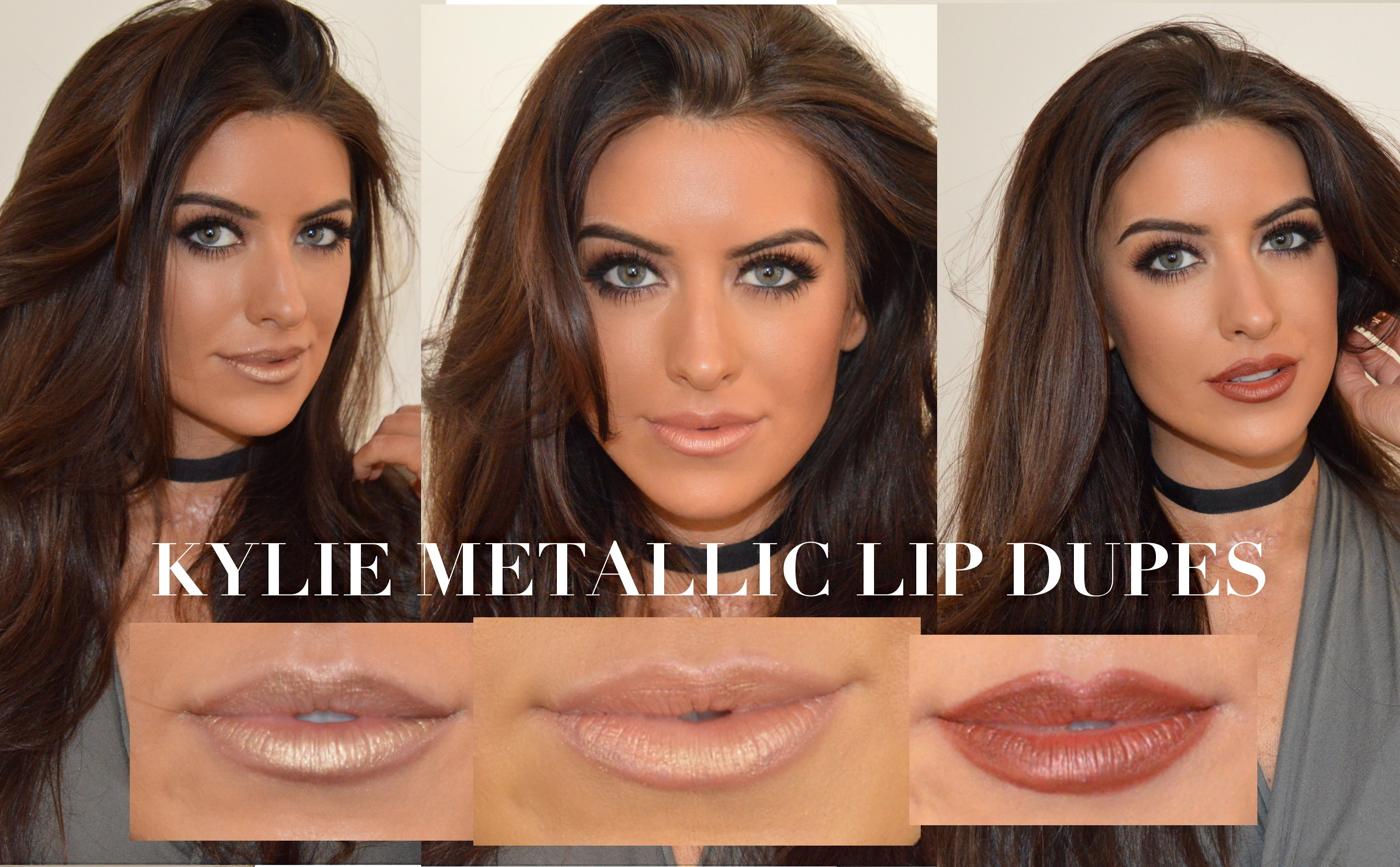 kylie metallic lip dupes