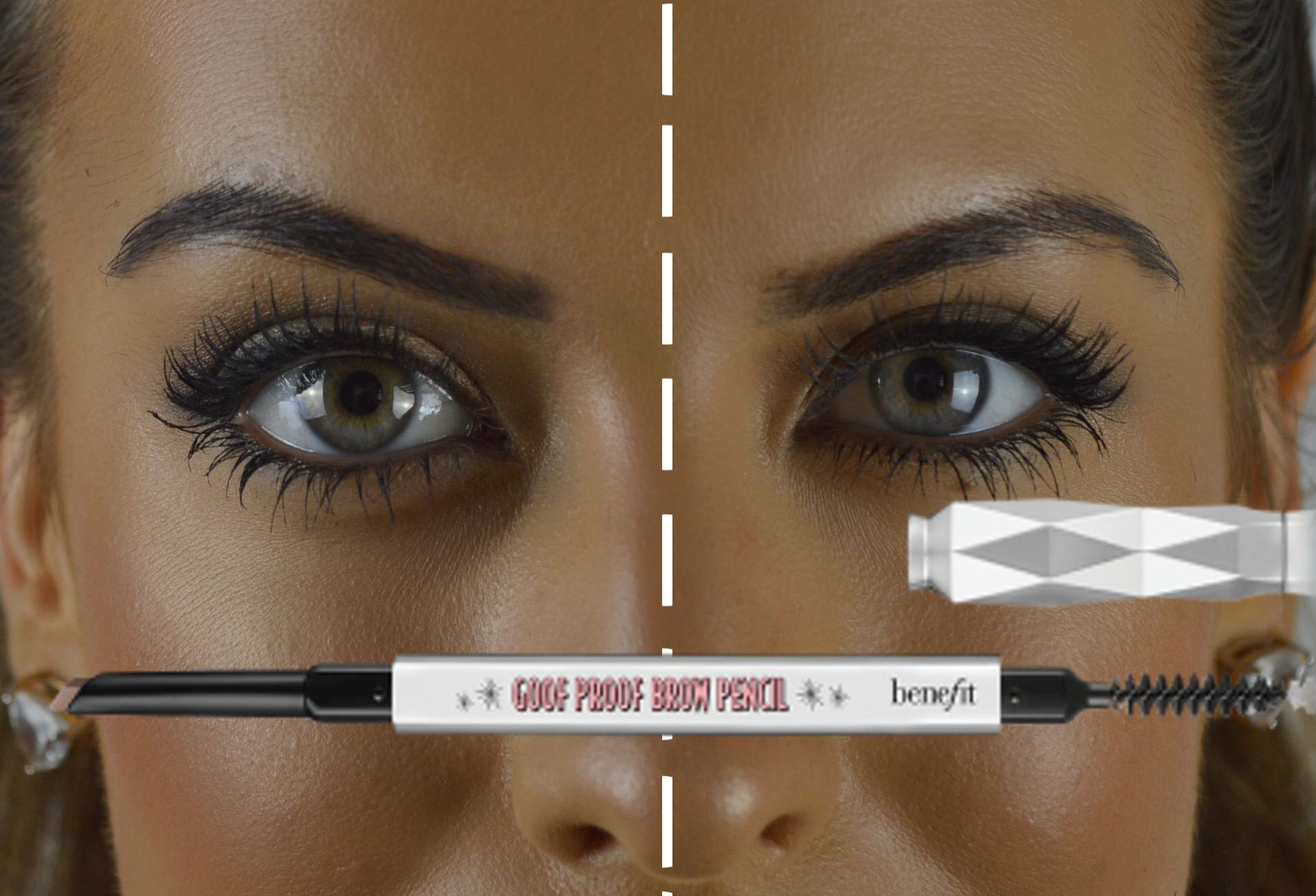 benefit Goof proof brows before after review