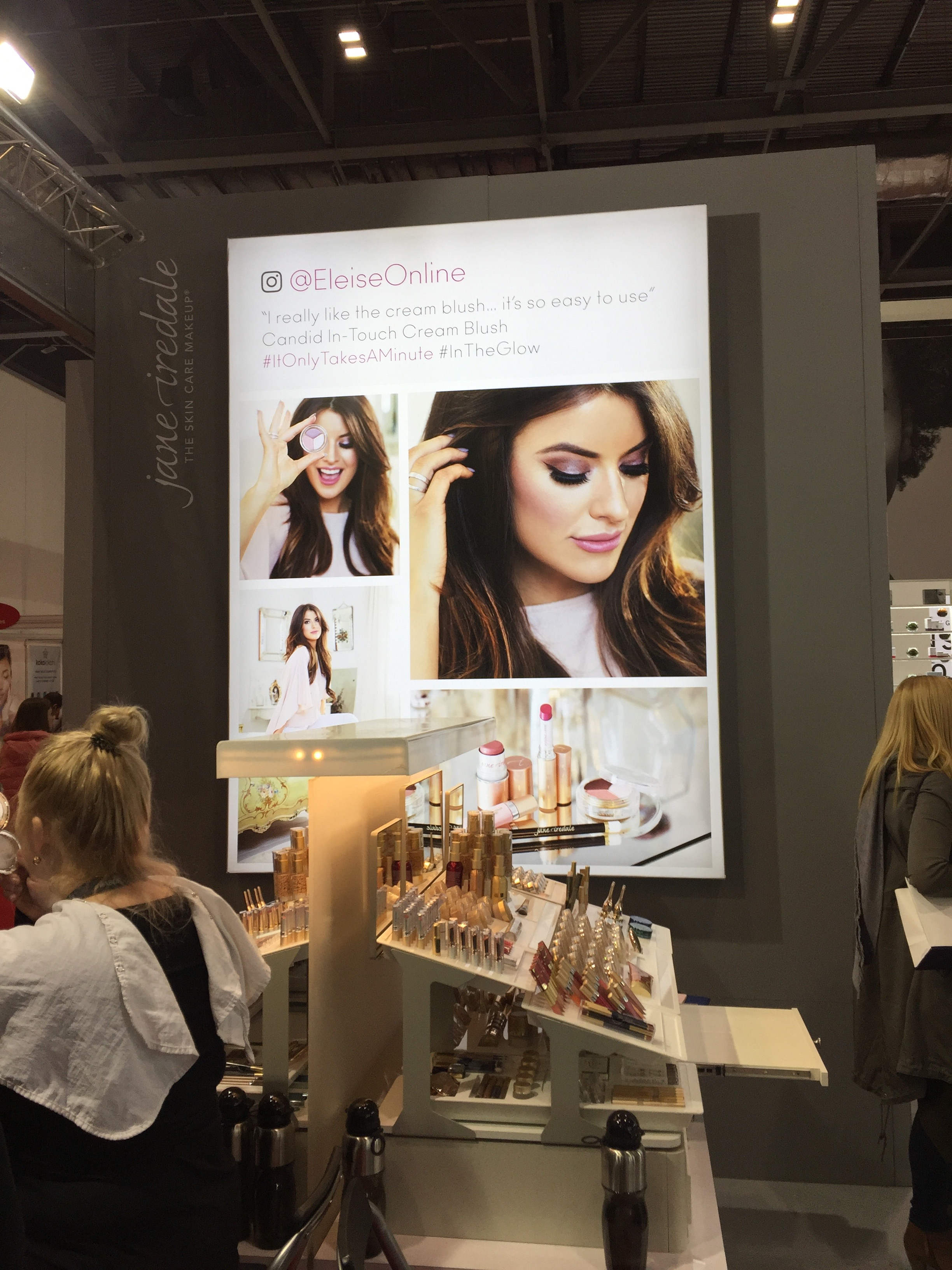 jane iredale launch eleise online